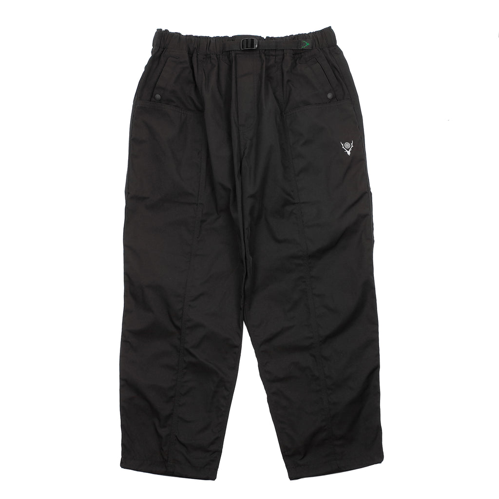 "BELTED CENTER SEAM PANTS ""BLACK"""