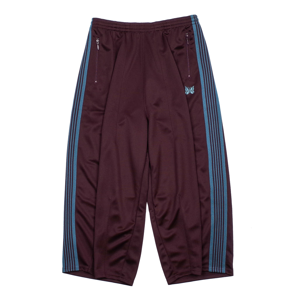 "H.D. POLY SMOOTH TRACK PANT ""BORDEAUX"""