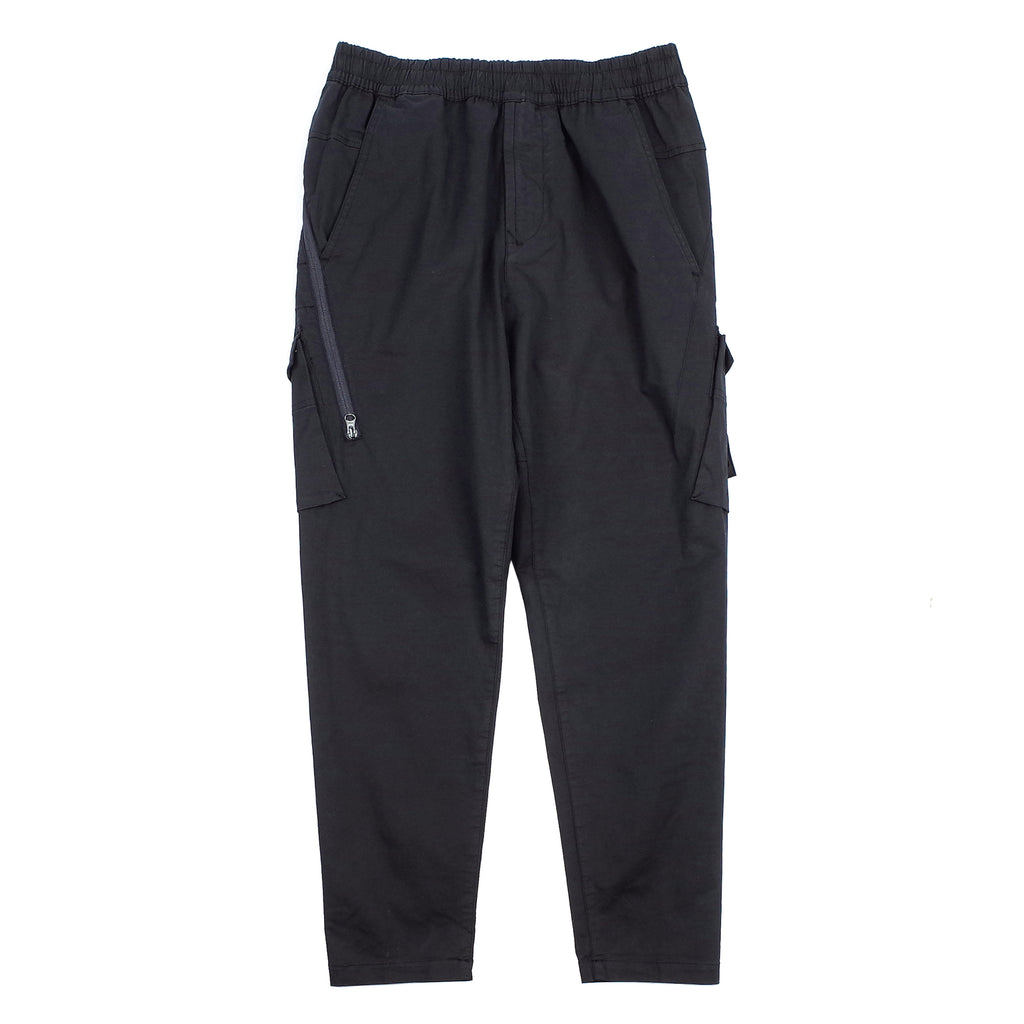 "STRETCH COTTON TWILL GHOST PIECE CARGO PANTS ""NAVY"""