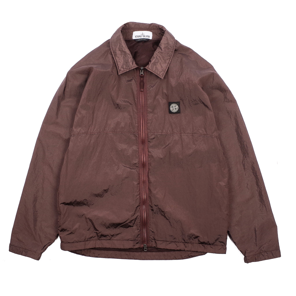 "NYLON METAL WATRO RIPSTOP JACKET ""MAHOGANY BROWN"""