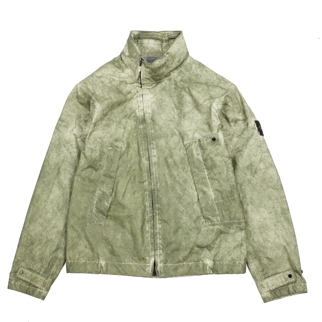"MEMBRANA 3L JACKET WITH DUST COLOUR FINISH ""GREEN/BEIGE"""