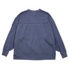 "UNBALANCE SWEAT PULLOVER  ""NAVY"""