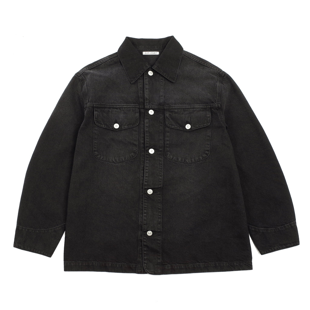 "NEW WORK JACKET ""COAL COTTON"""
