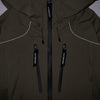 "E VENT DROPPING POCKET RAIN JACKET ""KHAKI"""