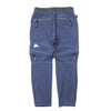 "SCHOELLER CONVERTIBLE ZIP PANTS ""BLUE"""