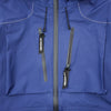"E VENT DROPPING POCKET RAIN JACKET ""BLUE"""