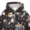 "FUTURA PRINT HOODED JACKET ""BLACK"""