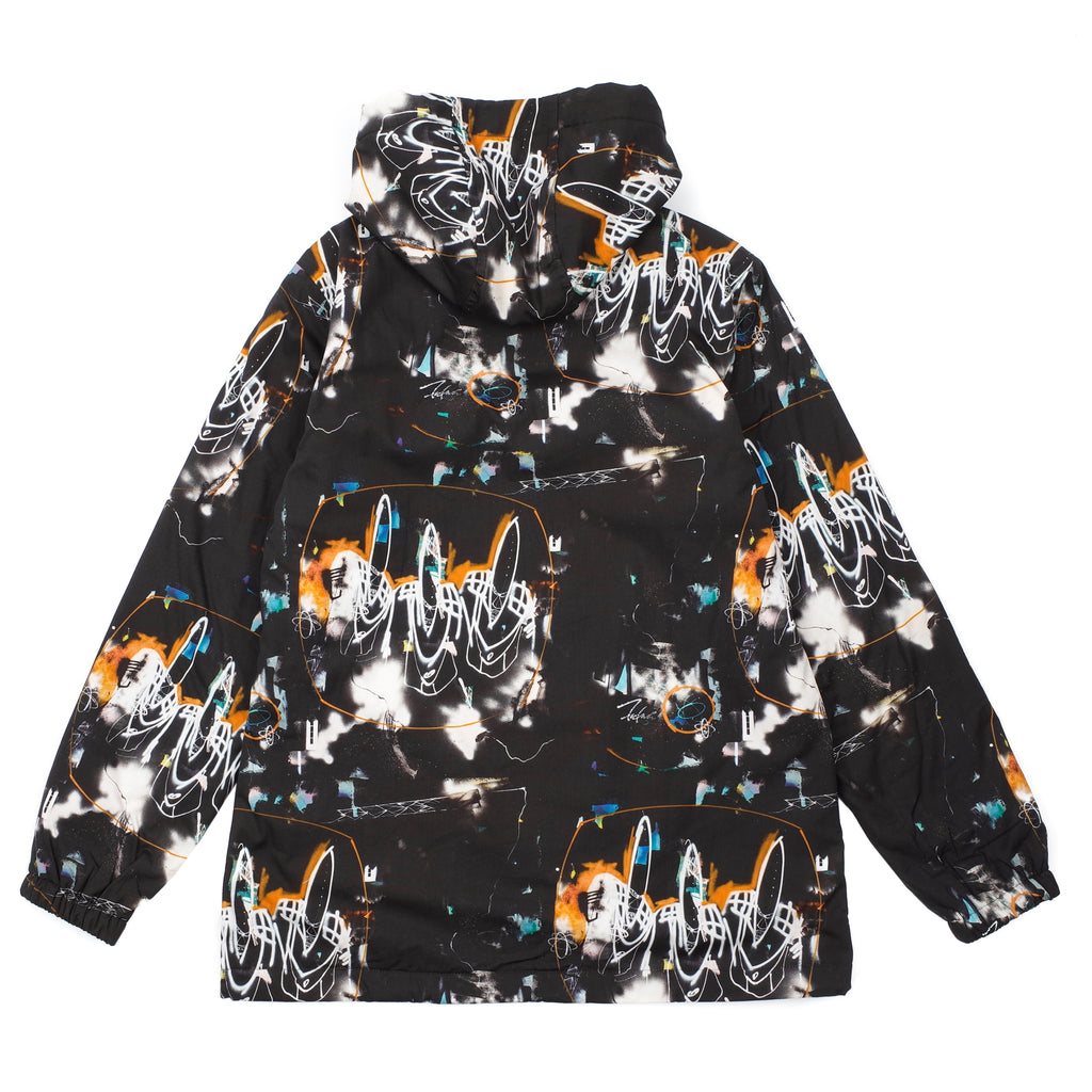FUTURA PRINT HOODED JACKET