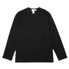 "LONG SLEEVE LOGO T-SHIRT ""BLACK"""