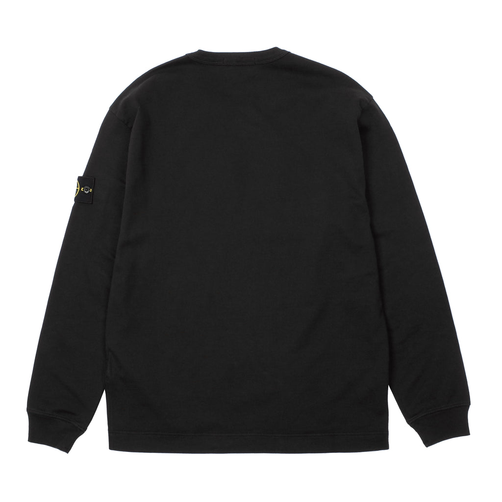 GARMENT DYED LONG SLEEVE CREWNECK