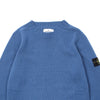 "LAMBSWOOL KNIT CREWNECK SWEATER ""PERIWINKLE"""
