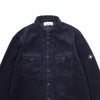 "CORDUROY TWO POCKET SHIRT ""NAVY BLUE"""