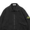 "POCKET ZIP OVERSHIRT ""BLACK"""