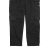 "STRETCH COTTON GABARDINE FOUR POCKET CARGO PANTS ""BLACK"""