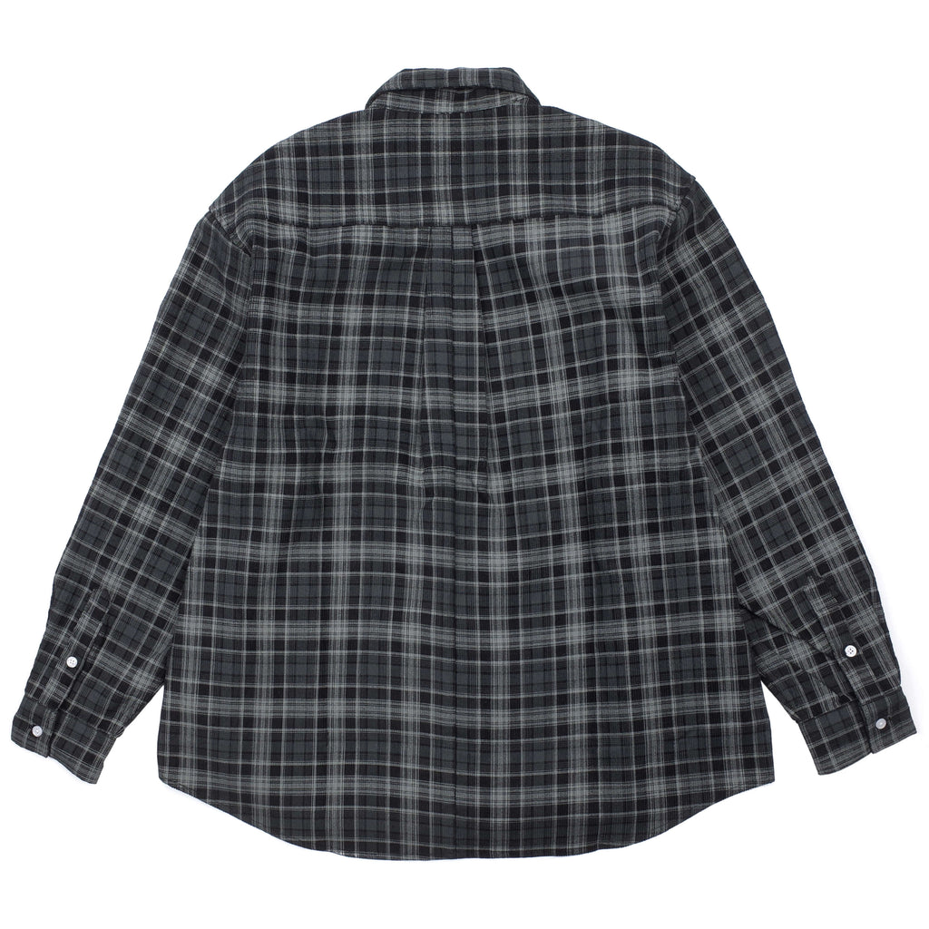 BASELINE CORD PLAID SHIRT