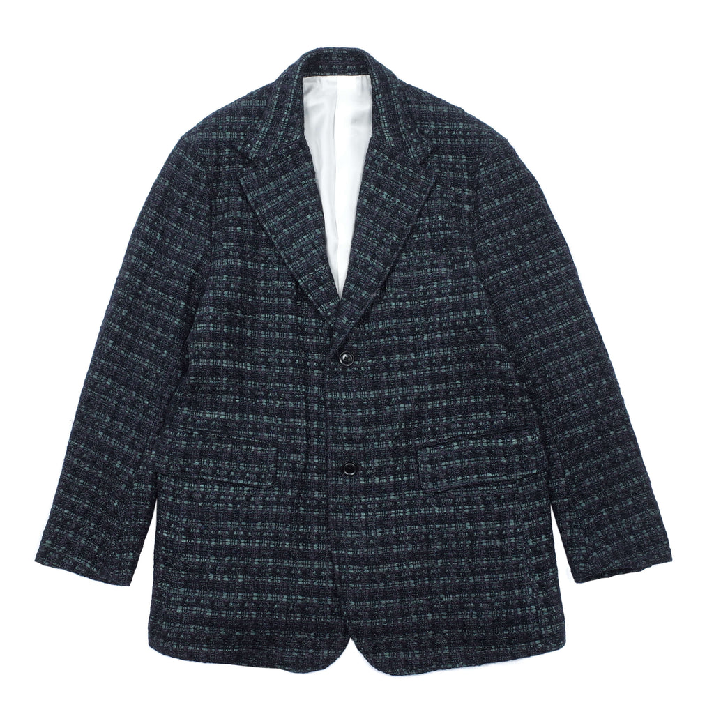 FANCY TWEED 2B JACKET