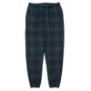 "TARTAN PLAID ICON SWEATPANTS ""FOREST/NAVY"""