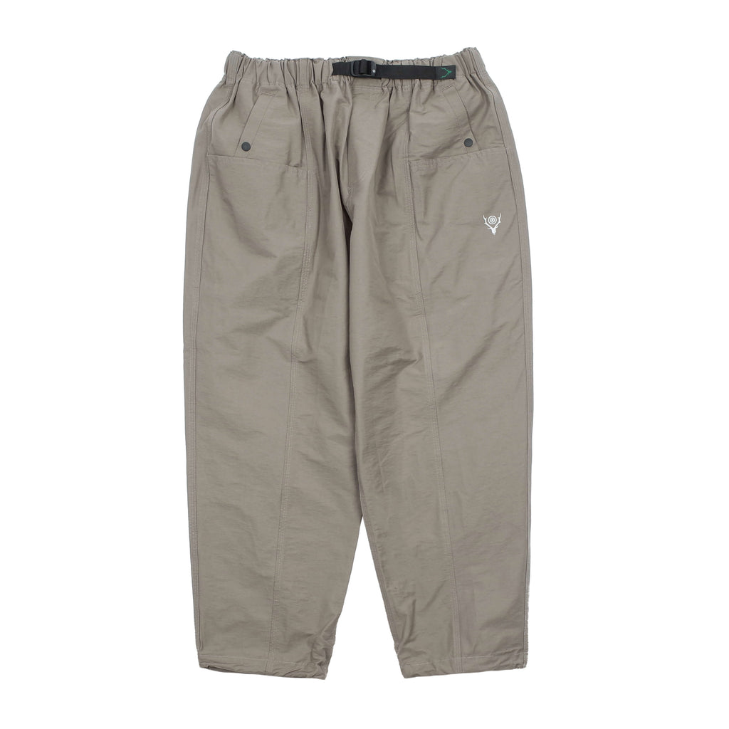 "BELTED CENTER SEAM PANTS ""TAUPE"""