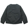 "CREW NECK DOWN TWILL JACKET ""GREEN"""
