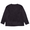 "SHAGGY KNIT S.S. V NECK SHIRT ""NAVY"""