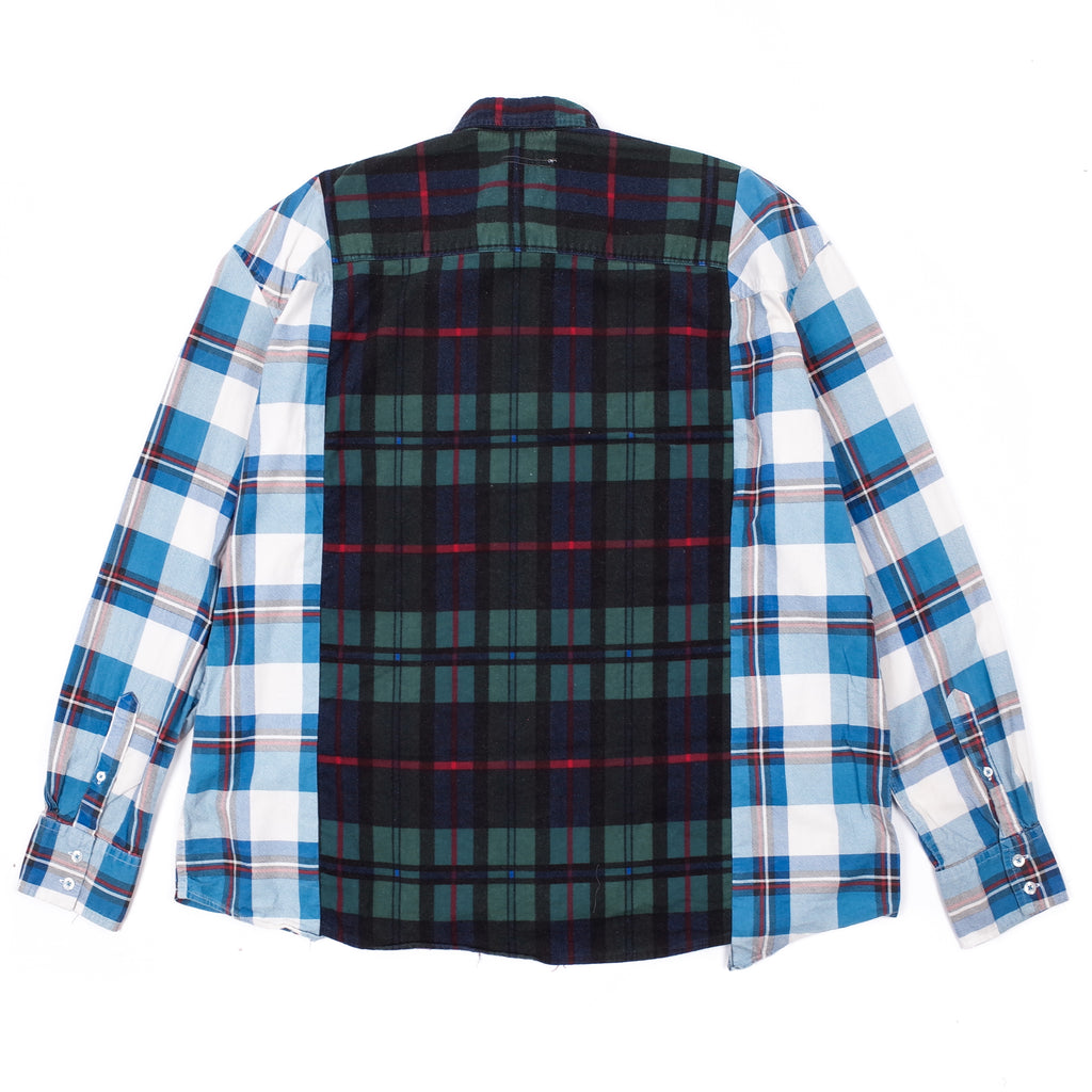 RIBBON FLANNEL SHIRT WIDE 2