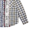 "RIBBON FLANNEL SHIRT LARGE 1 ""PLAID"""