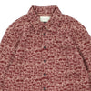 "TWEED OVERSHIRT ""RED"""
