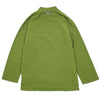 "THERMOTRON MOCK NECK LONG SLEEVE ""YELLOW GREEN"""