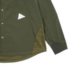"FLEECE BASE SHIRT ""KHAKI"""