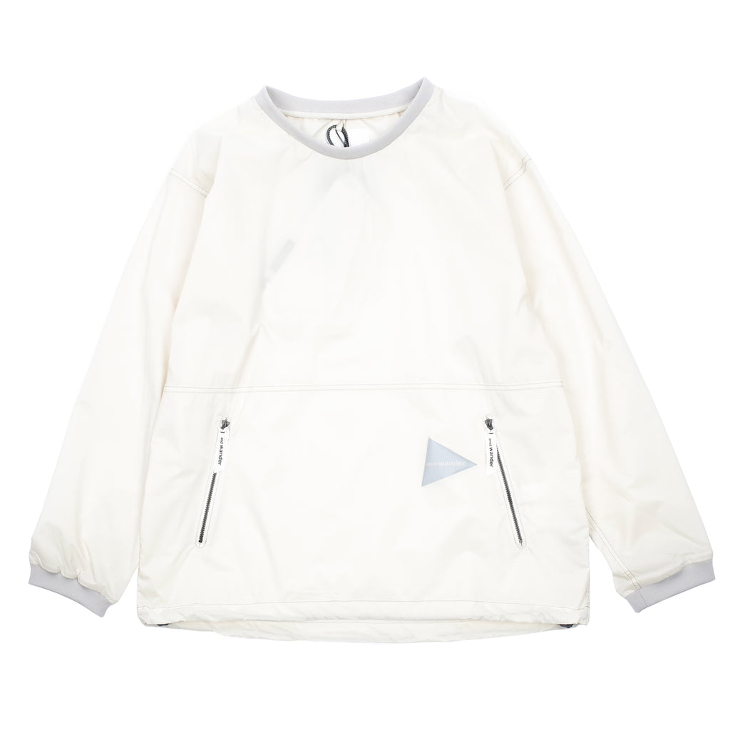 "PERTEX WIND LONG SLEEVE T-SHIRT ""OFF WHITE"""