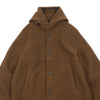 "WOOL DUFFLE COAT ""BROWN"""