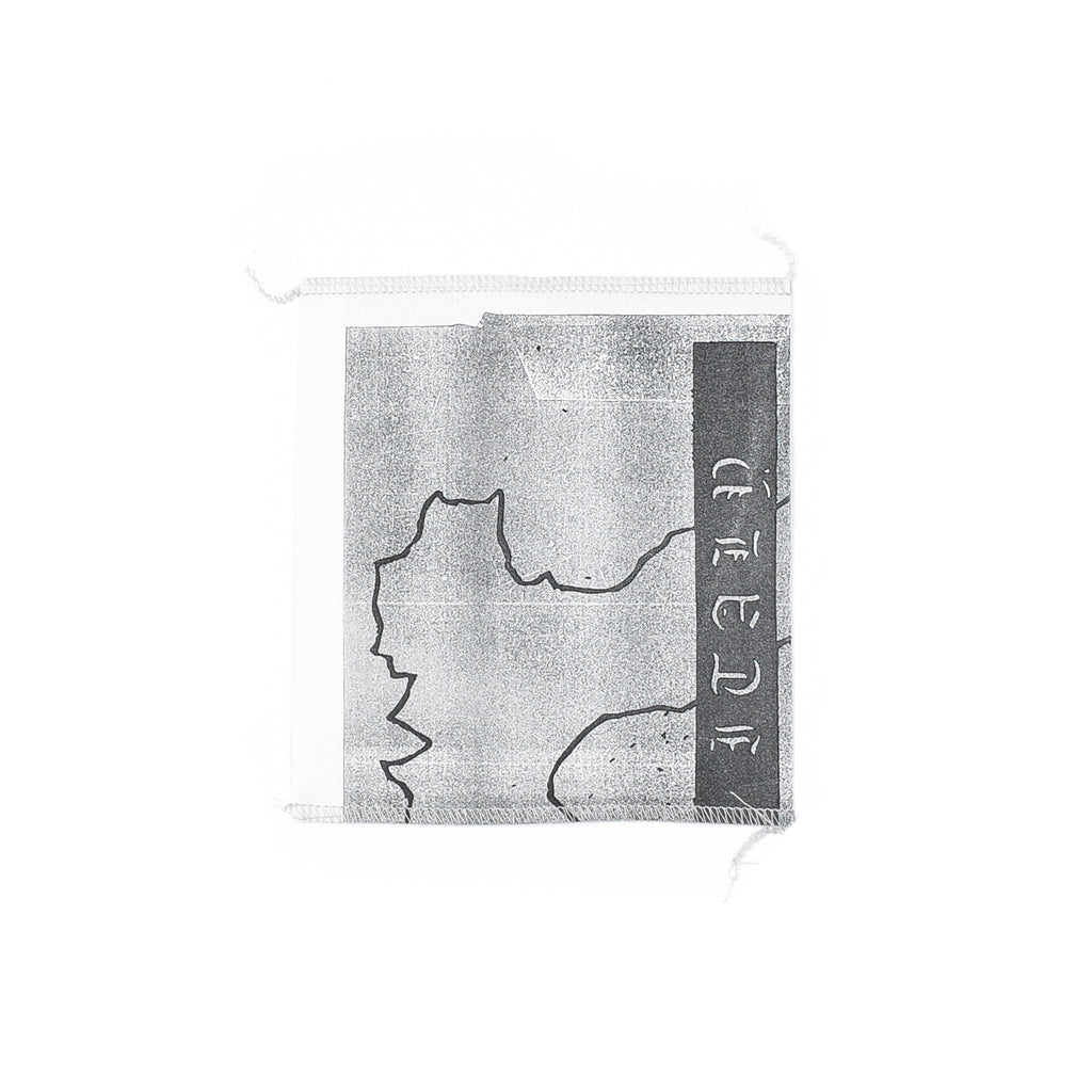 "ITALY HARDWARE PATCH ""GREY"""