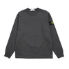 "GARMENT DYED LONG SLEEVE CREWNECK ""CHARCOAL"""