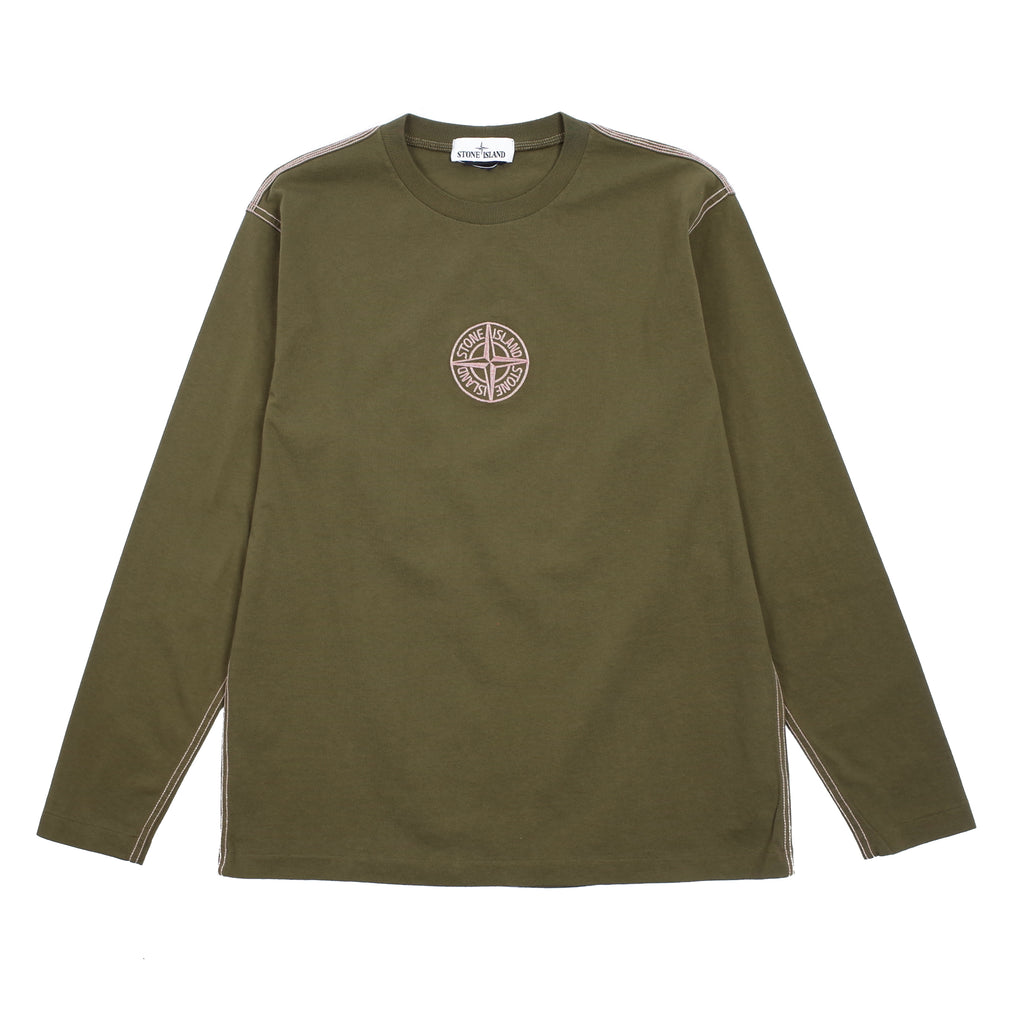 EMBROIDERED LONG SLEEVE T-SHIRT