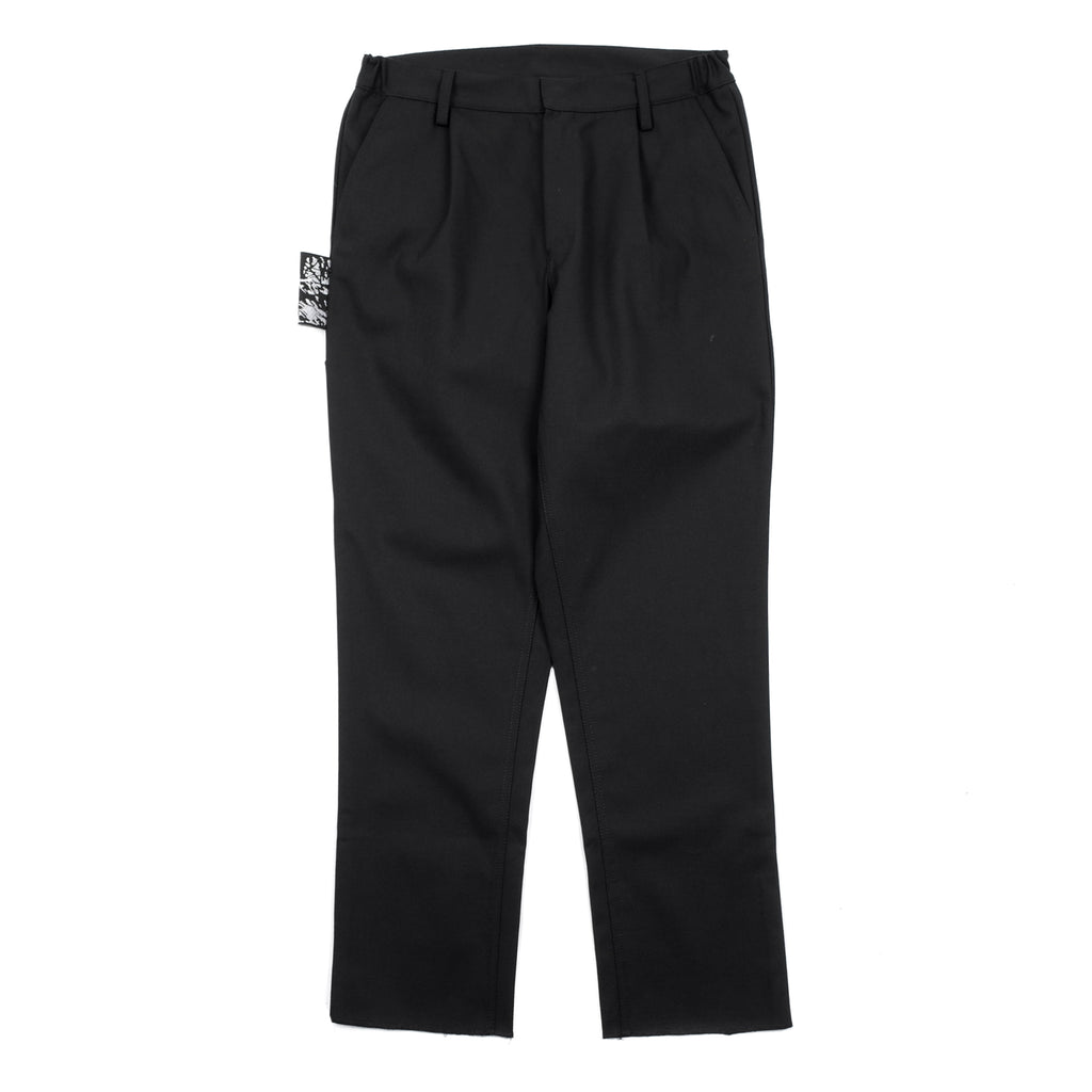 "AD RING PATCH PANTS ""BLACK"""
