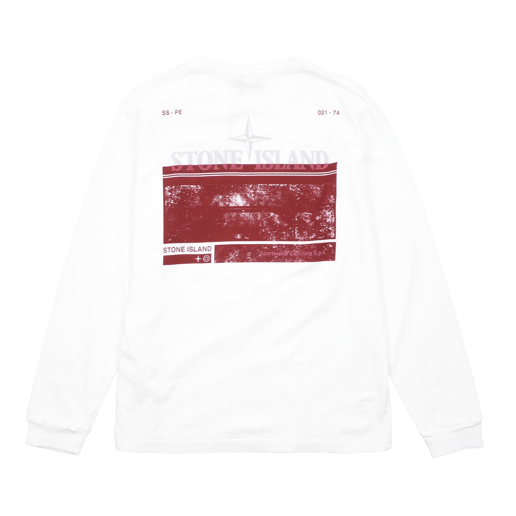 'BLOCK TWO' LONG SLEEVE T-SHIRT