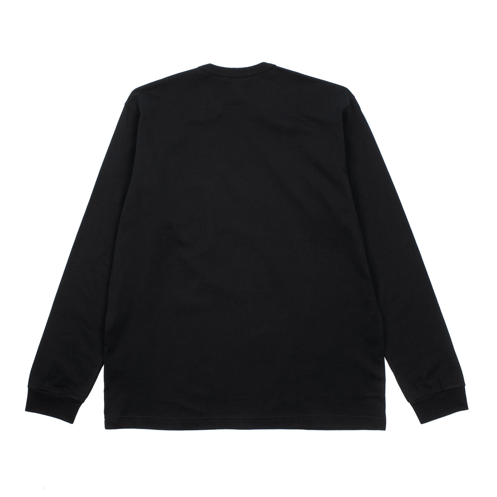 LONG SLEEVE SMALL LOGO POCKET T-SHIRT