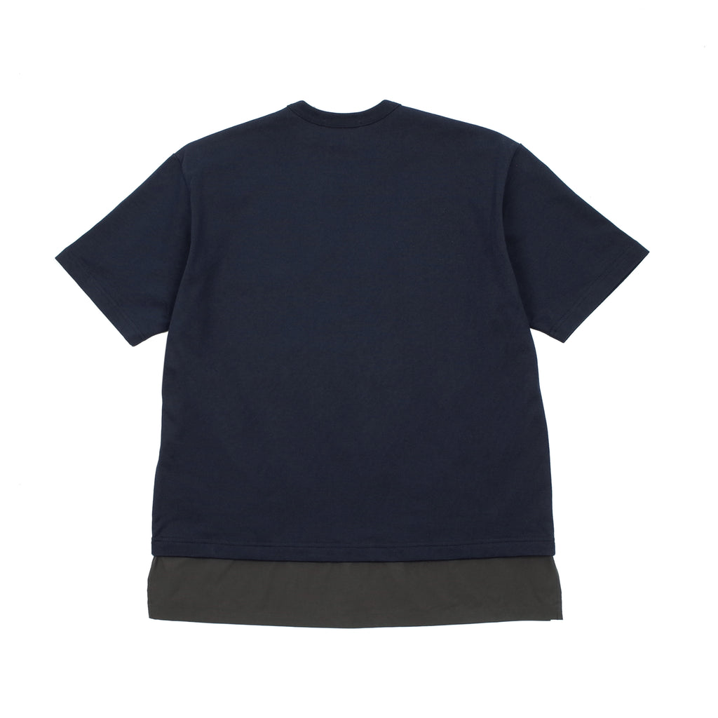 LAYERED SHORT SLEEVE POCKET T-SHIRT