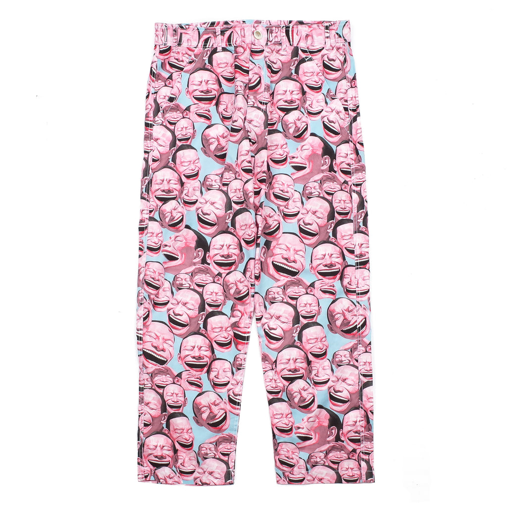 YUE MINJUN ALL-OVER PRINT PANTS