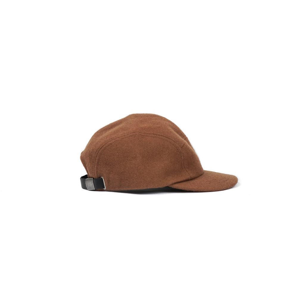 "TRAIL CAP (WOOL) ""BROWN"""