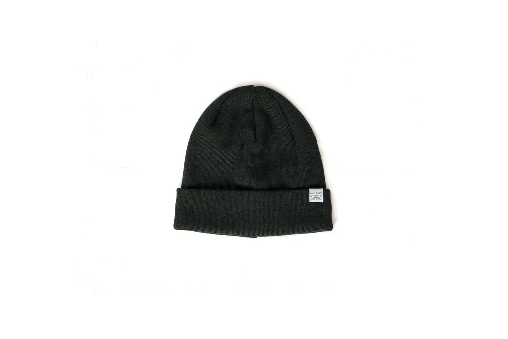 "NORSE TOP BEANIE ""MOSS"""