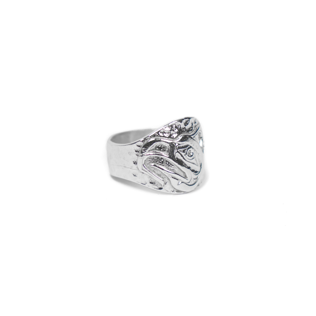x KELVIN THOMPSON THUNDERBIRD TOTEM RING (SILVER 925)