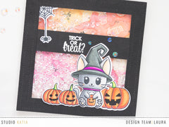 Meowy Halloween | Clear Stamp Set