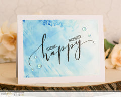 Happy | Clear Stamp Set