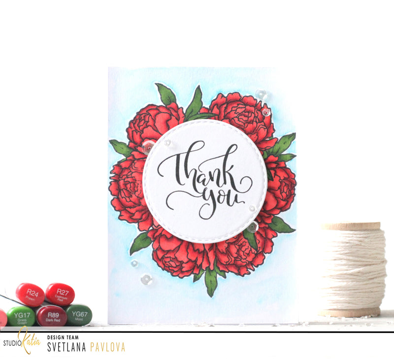 Together We Bloom | Clear Stamp Set