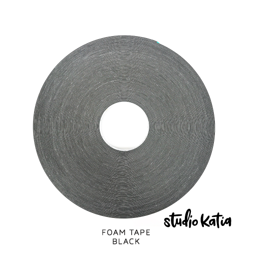 DOUBLE SIDED FOAM TAPE - BLACK