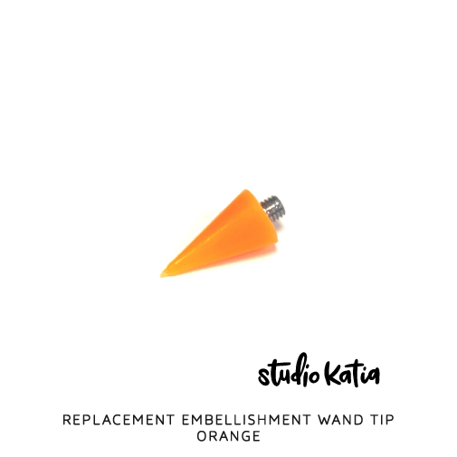 REPLACEMENT WAND TIP - ORANGE