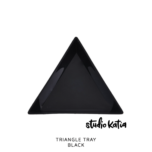TRIANGLE TRAY - BLACK