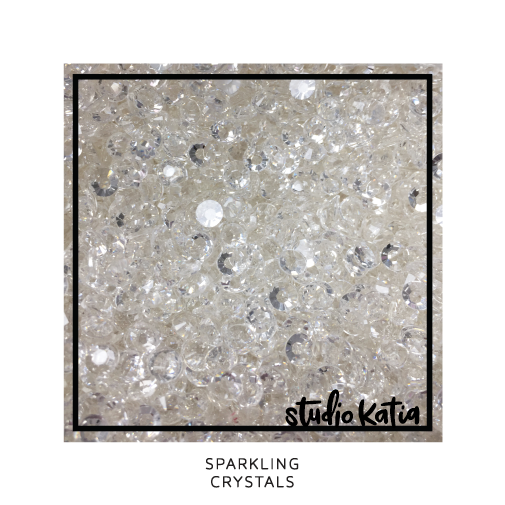 studio katia, stars, sequins, embellishments, cardmaking, scrapbooking, shakercards, cards, papercrafts