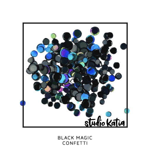 BLACK MAGIC CONFETTI